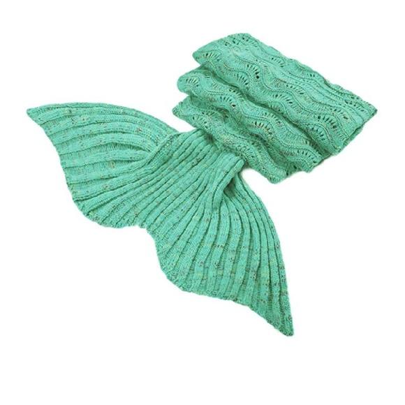 Other - Soft Mermaid Crochet Blanket